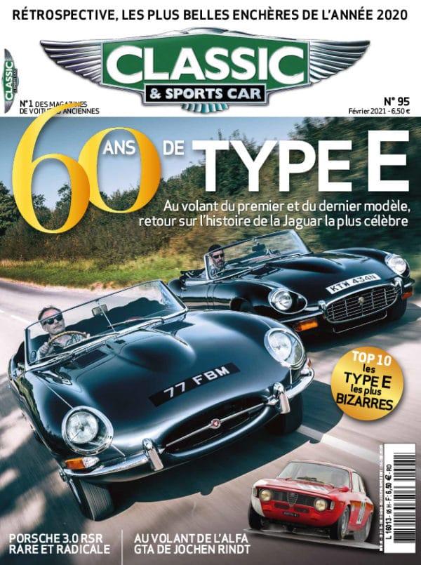 Couverture Classic & Sports Car 95