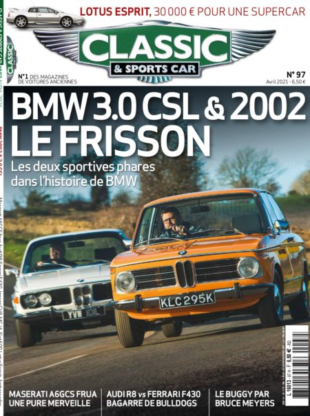 Couverture Classic & Sports Car 97