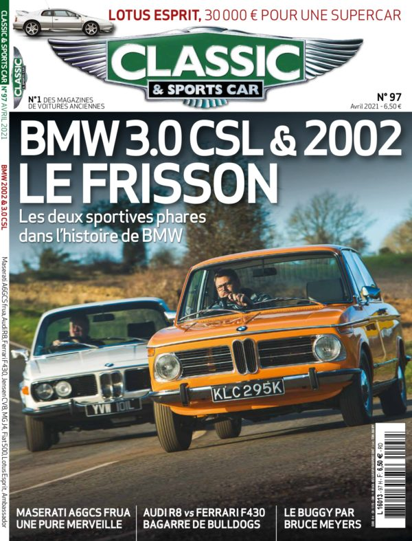 Couverture Classic & Sports Car 97