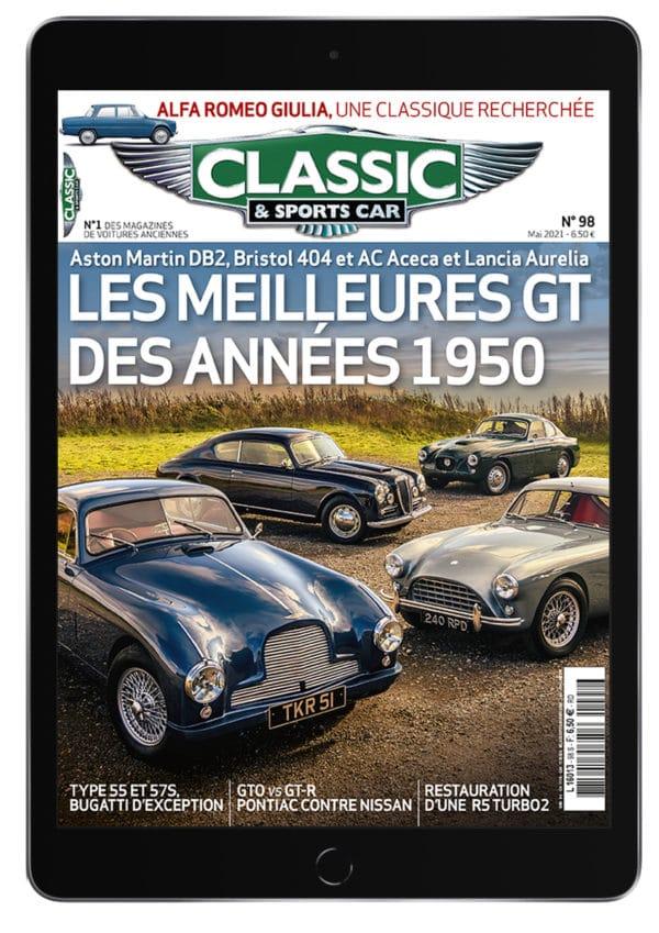 Couverture Classic & Sports Car 98 - Version Numérique