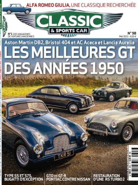 Couverture Classic & Sports Car 98