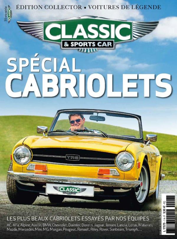 """Couverture Hors-Série Classic & Sports Car """"Les Cabriolets"""""""