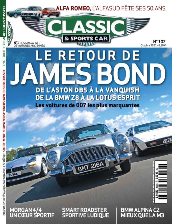 Couverture Classic and Sports Car 102